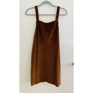American Eagle: Corduroy Dress Overall